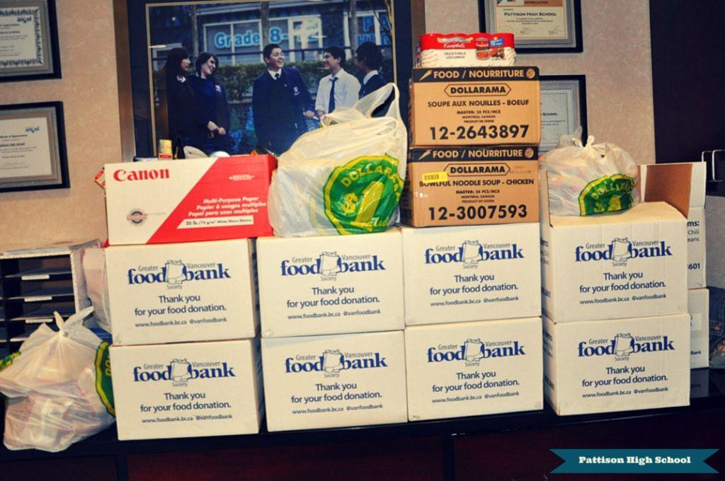 Food Bank December 2014 Pattison High School Private
